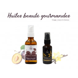 Duo d'huiles gourmandes